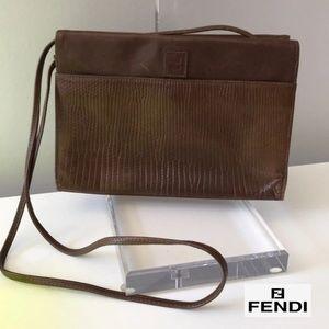 Authentic Vintage 70's Fendi Crossbody